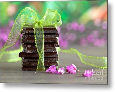 Chocolate Metal Print by Nailia Schwarz