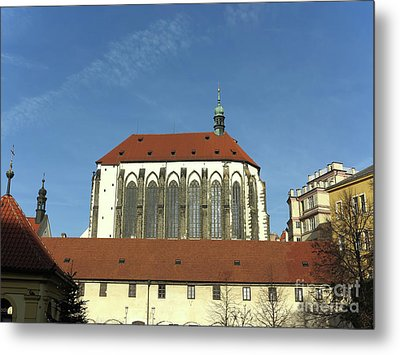 Metal Print featuring the photograph Church Of The Virgin Mary Of The Snow by Michal Boubin