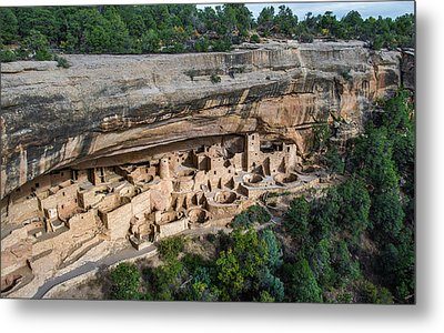 Cliff Palace Metal Print by Joseph Smith