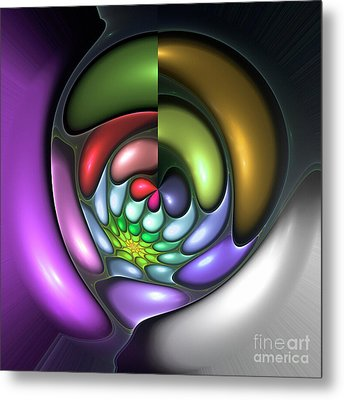 Colorful Metal Print by Steve K
