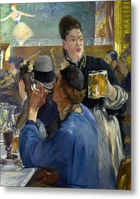Corner Of A Cafe Concert Metal Print by Edouard Manet