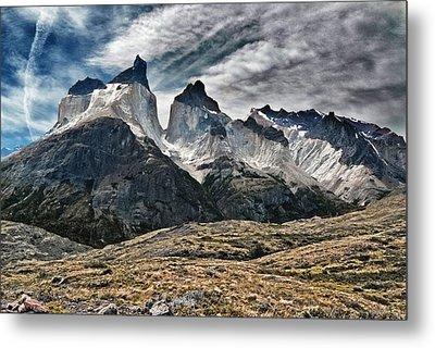 Cuernos Del Paine Metal Print