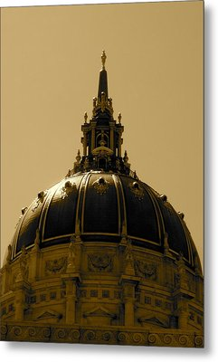 Metal Print featuring the photograph Cupula by Fanny Diaz