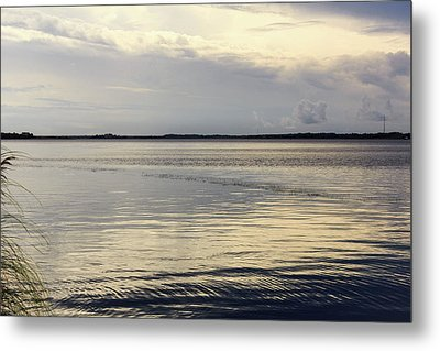 Currituck Sound Metal Print
