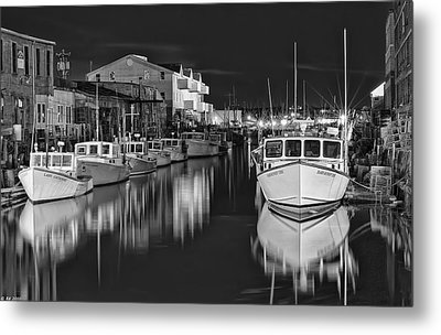 Custom House Wharf Metal Print