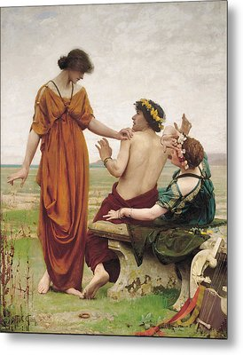 Destiny Metal Print by Thomas Cooper Gotch