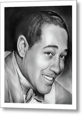 Duke Ellington Metal Print by Greg Joens