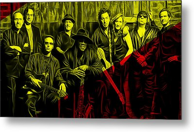 E Street Band Collection Metal Print by Marvin Blaine