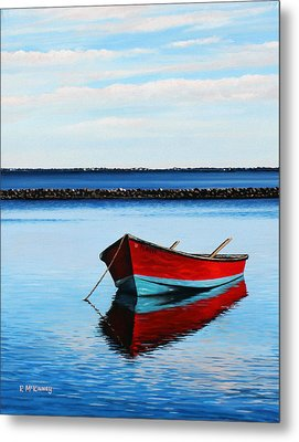 Eastpoint Red Metal Print
