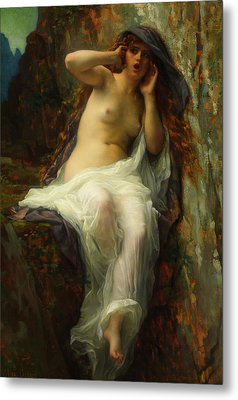 Metal Print featuring the painting Echo by Alexandre Cabanel