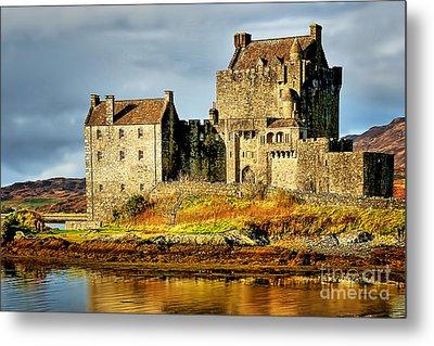 Eilean Donan Castle Metal Print by Nichola Denny