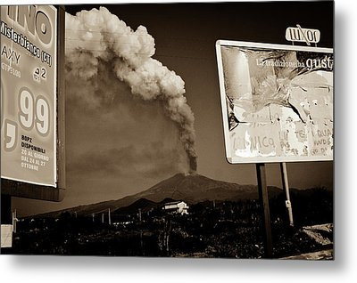 Etna, The Volcano Metal Print by Bruno Spagnolo