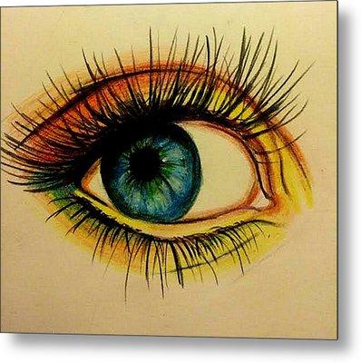 Eye Metal Print by Kate R