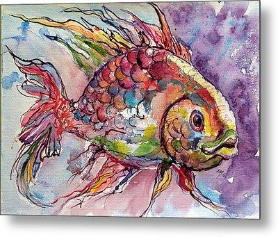 Fish Metal Print by Kovacs Anna Brigitta