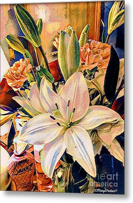 Flowers For You Metal Print