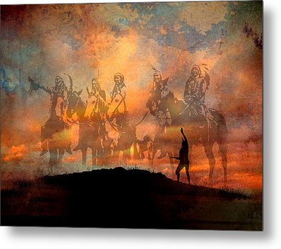 Forefathers Metal Print