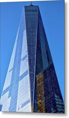 Metal Print featuring the photograph Freedom Tower by Mitch Cat