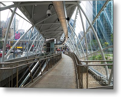 Gateway T Station Pittsburgh Metal Print by Amy Cicconi