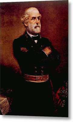 General Robert E. Lee 1807-1870 Metal Print by Everett