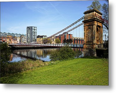Metal Print featuring the photograph Glasgow by Jeremy Lavender Photography