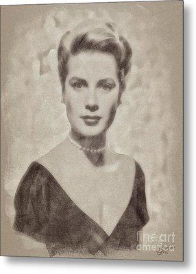 Grace Kelly, Actress And Princess Metal Print