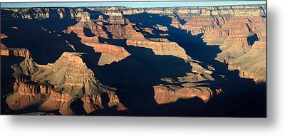 Grand Canyon National Park At Sunset Metal Print by Pierre Leclerc Photography