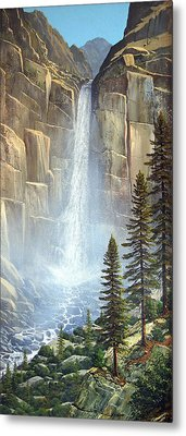 Great Falls Metal Print by Frank Wilson