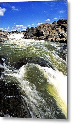 Great Falls Of The Potomac River Metal Print by Thomas R Fletcher