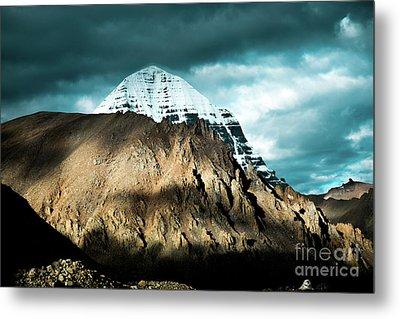 Holy Kailas East Slop Himalayas Tibet Yantra.lv Metal Print