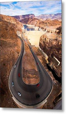 Hoover Dam Metal Print by Phong Trinh