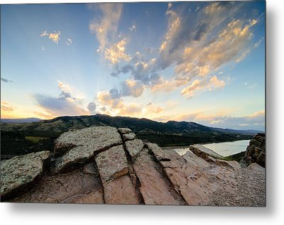 Horsetooth Reservoir, Fort Collins, Colorado Metal Print by Preston Broadfoot