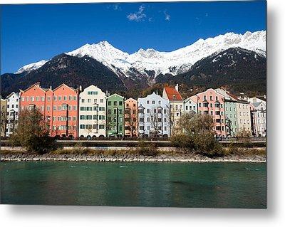 Innsbruck Metal Print by Andre Goncalves
