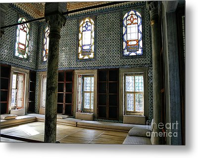 Metal Print featuring the photograph Inside The Harem Of The Topkapi Palace by Patricia Hofmeester