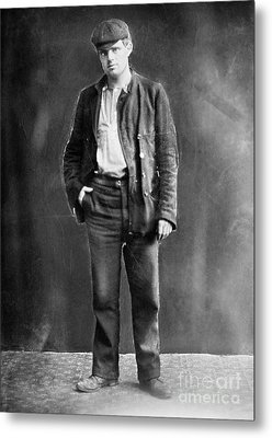 Jack London (1876-1916) Metal Print by Granger