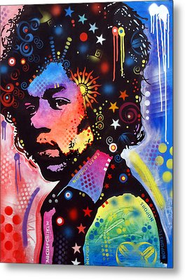 Metal Print featuring the painting Jimi Hendrix by Dean Russo