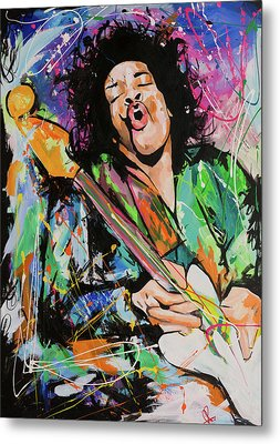 Jimi Hendrix Metal Print by Richard Day