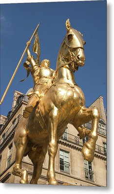 Joan Of Arc Metal Print by Carl Purcell