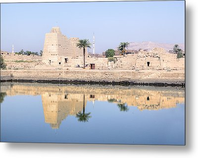 Karnak Temple - Egypt Metal Print by Joana Kruse