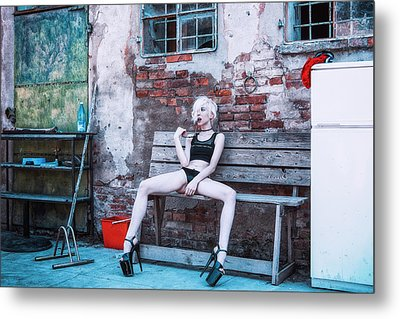 Metal Print featuring the photograph Kelevra by Traven Milovich