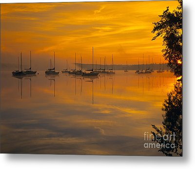 Lake Massabesic - Auburn New Hampshire Usa Metal Print by Erin Paul Donovan