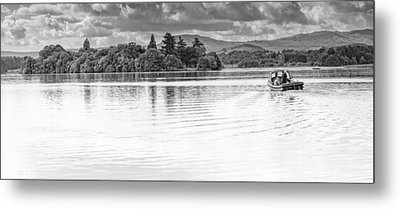 Lake Of Menteith Metal Print by Jeremy Lavender Photography