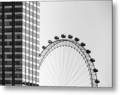 London Eye Metal Print by Joana Kruse