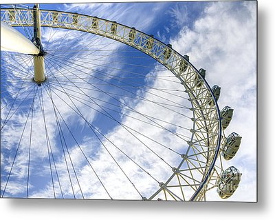 London Eye Metal Print by Svetlana Sewell