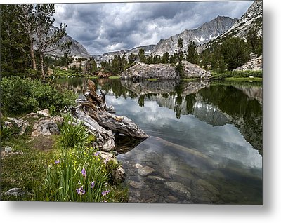 Long Lake Metal Print by Cat Connor