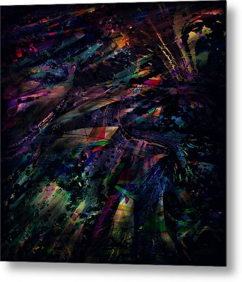 Losing Touch Metal Print