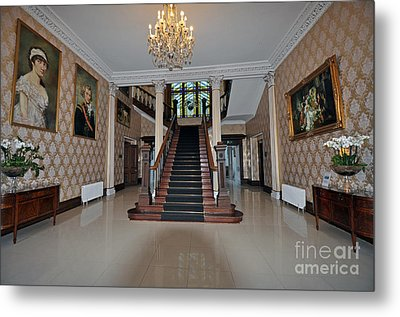 Lyrath Estate Hotel Metal Print