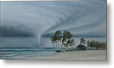 Mahahual Metal Print by Angel Ortiz