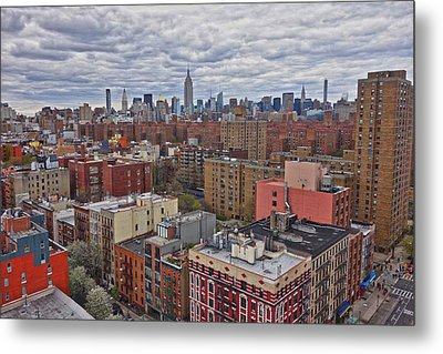 Metal Print featuring the photograph Manhattan Landscape by Joan Reese