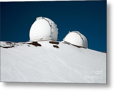 Mauna Kea Observatory Metal Print by Peter French - Printscapes