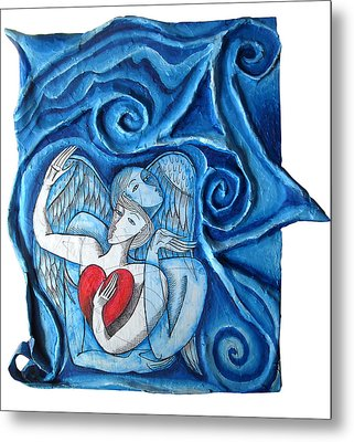Me And My Angel Metal Print by Joanna Whitney